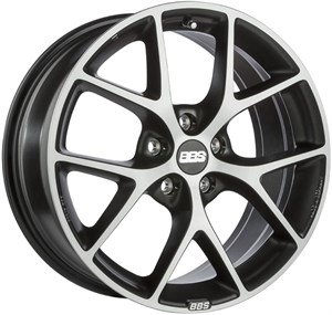 BBS SR Satin Vulcano Grey Diamond Cut 2