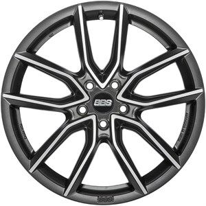BBS XA Night Fever Black Diamond Cut