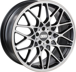 BBS RX-R Matt Sort Diamond Cut 2