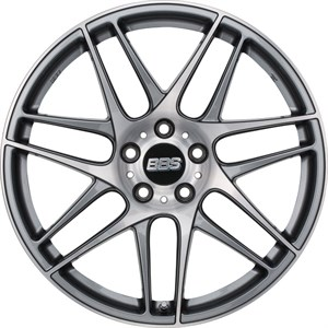 BBS CX-R Anthracite Diamond Cut