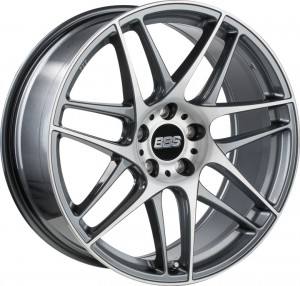 BBS CX-R Anthracite Diamond Cut 2