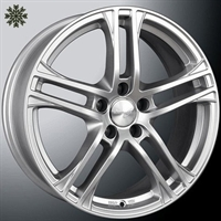 WHEELWORLD WH10 SILVER