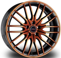 BORBET CW4 BLACK ORANGE GL