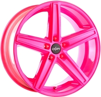 18 CONCAVE NEON PINK