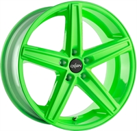 18 CONCAVE NEON GREEN