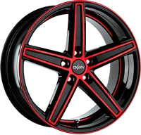 18 CONCAVE RED POL