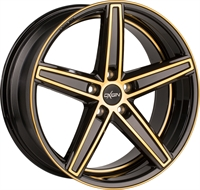 18 CONCAVE BROWN GOLD POL
