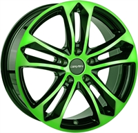 5 ARROW NEON GREEN POL