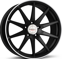 GTX BLACK RIM POL  MATT