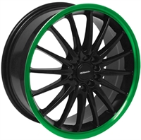 TEAM DYN JET BL - GREEN LIP