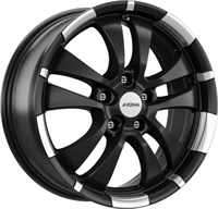 R59 JET BLACK MATT - RIM LIP DIAMOND CUT